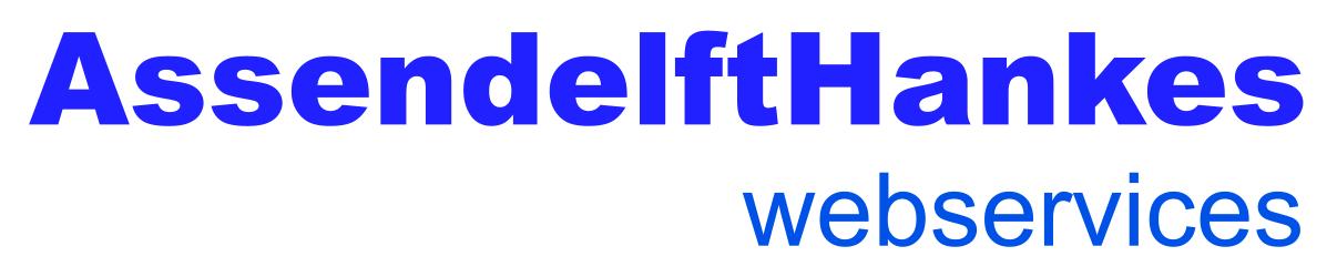 AssendelftHankes webservices